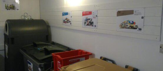 Miljørum til sortering