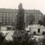 Tidligere bygninger nedrives